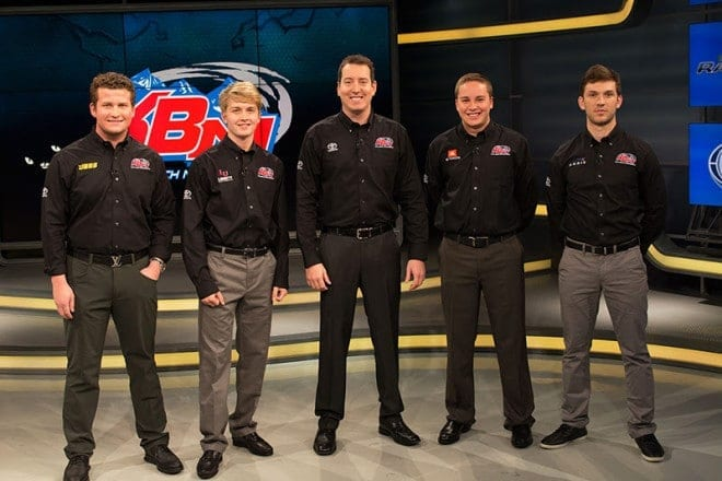 Kyle Busch Motorsports 2016 Driver Lineup