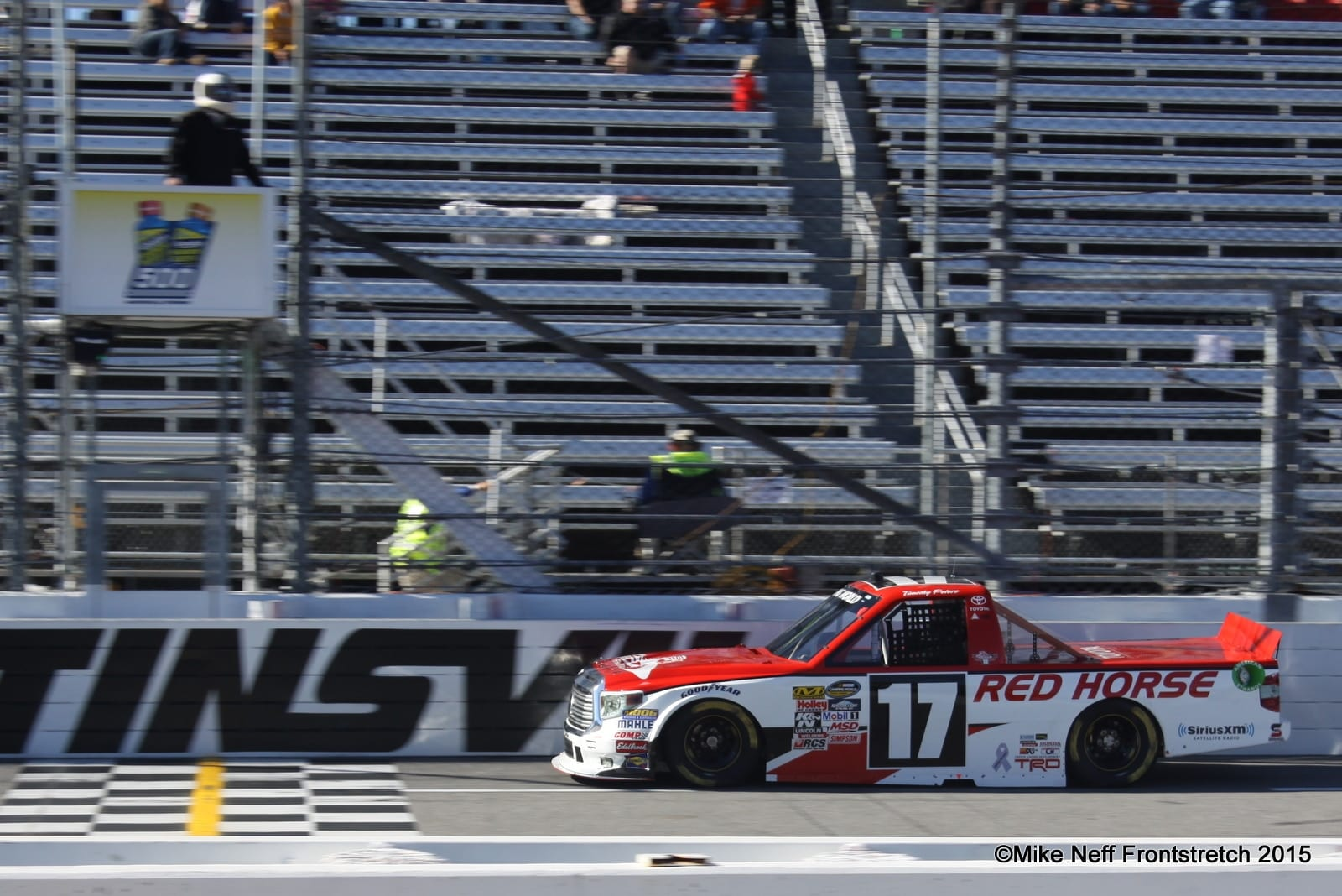 Timothy Peters 2015 Martinsville Trucks Practice Mike Neff