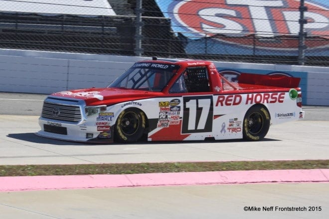 Timothy Peters Martinsville 2015 Trucks Mike Neff