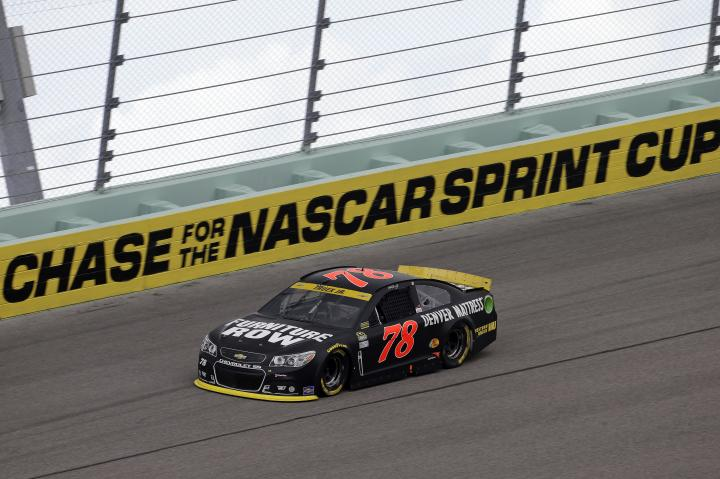 2015 Homestead CUP Martin Truex Jr car Chase CIA