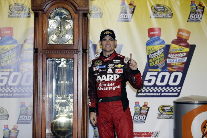 2015 Martinsville II CUP JEff Gordon trophy CIA
