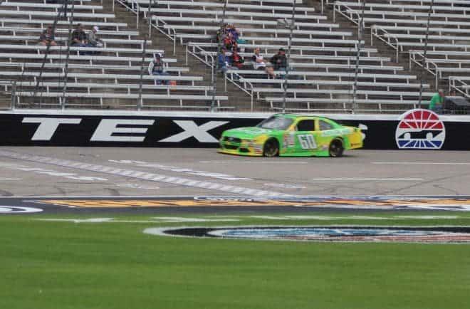 2015 XFINITY Texas Chris Buescher on Track Beth Lunkenheimer