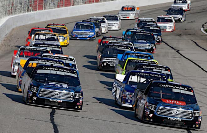 Atlanta Truck Series Qualifying Cancelled; Austin Hill Starts from the Pole