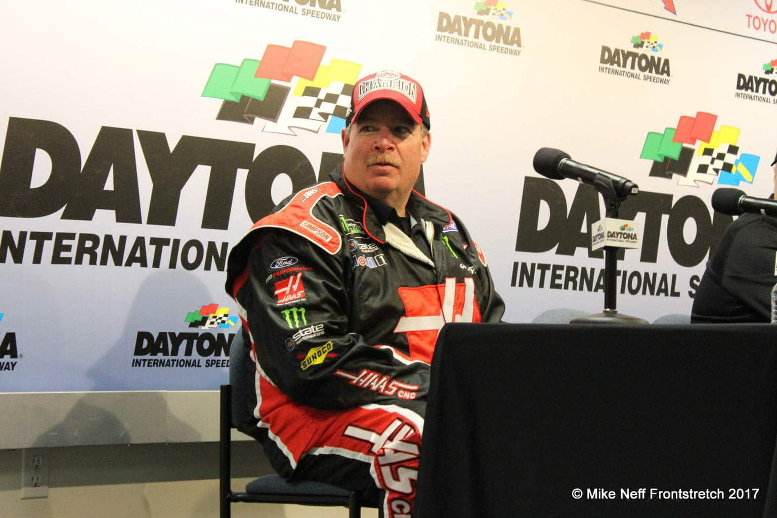 Tony Gibson Daytona Post Race Cup 2017 Mike Neff