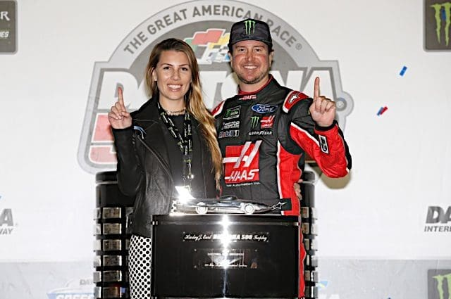 Kurt Busch Credits New Bride for Recent Success, Daytona 500 Victory