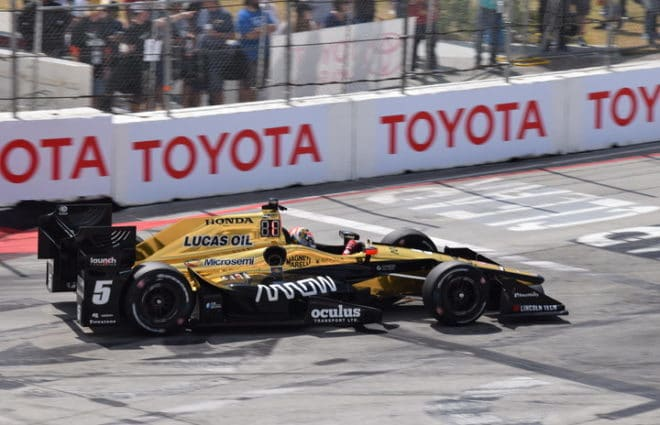 James Hinchcliffe Uses Pit Strategy To Claim Comeback Win