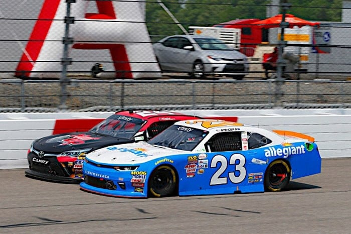 2017 Richmond I NXS Spencer Gallagher racing Russell LABounty NKP