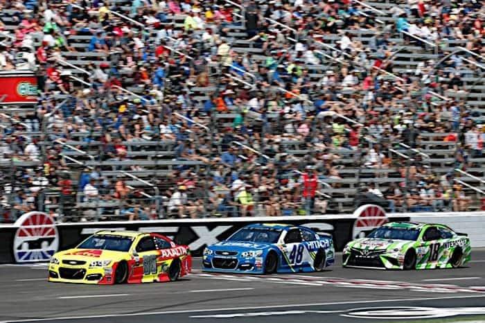 2017 Texas I CUP Dale Earnhardt Jr racing Matthew T Thacker NKP