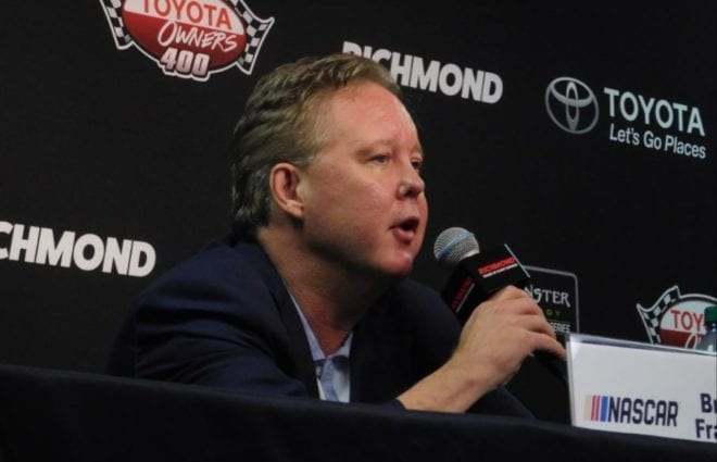 Brian France Excited About New Wave of NASCAR Driver Talent