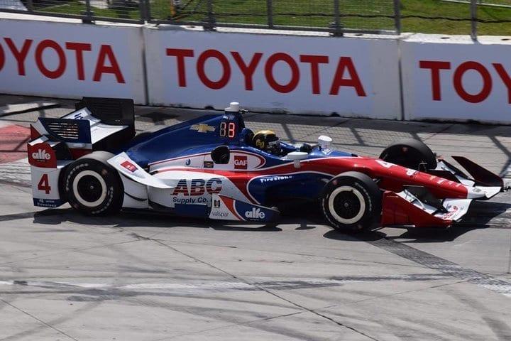 2017 Long Beach IndyCar Conor Daly Car Phil Allaway