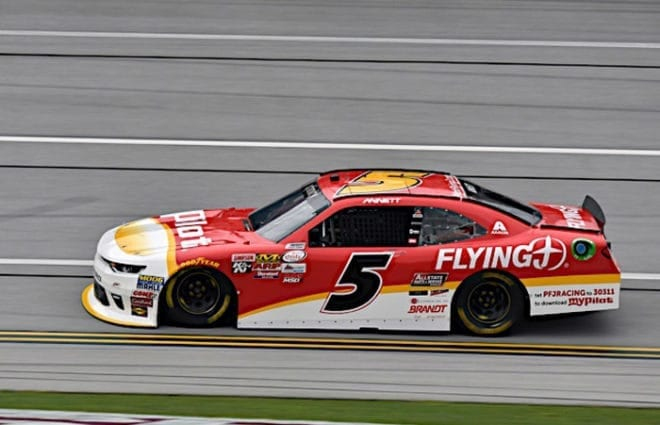 Eyes on XFINITY: Michael Annett Disappointed Not Running with JR Motorsports Teammates