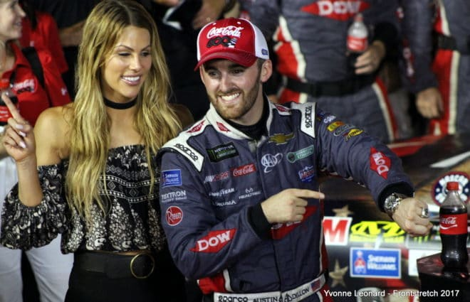 Thinkin' Out Loud : Austin Dillon Good to the Last Drop in Coca-Cola 600