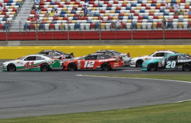 Clean Air Dominates Charlotte XFINITY Race