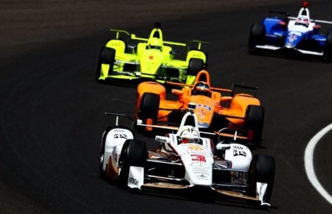 Helio Castroneves Tops Final Indy 500 Practice