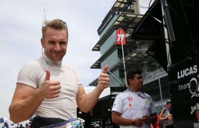 Jay Howard Feeling Confident for Return Indy 500 Start