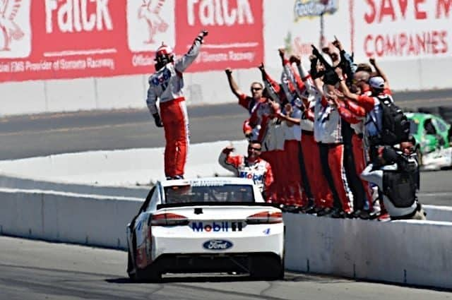 Thinkin' Out Loud: Kevin Harvick Finally Tastes Well Aged Victory at Sonoma
