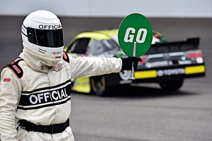 2017 Indianapolis NXS official Rusty JArrett NKP
