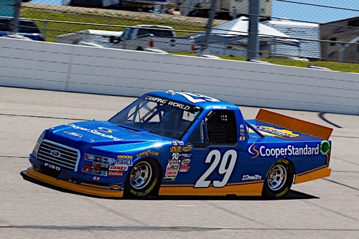 2017 Iowa CWTS Chase Briscoe truck Russell LaBounty NKP