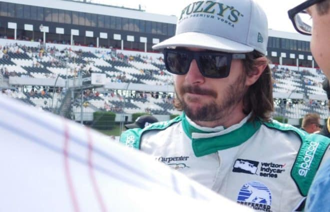 JR Hildebrand Entering Indianpolis 500 With Dan Gurney-Honoring No. 48