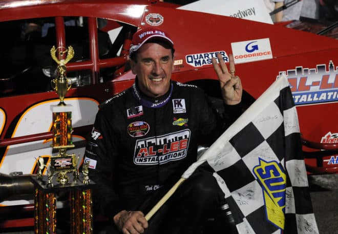 2011 Stafford WMT Ted Christopher Victory Lane Darren McCollester NASCAR via Getty Images