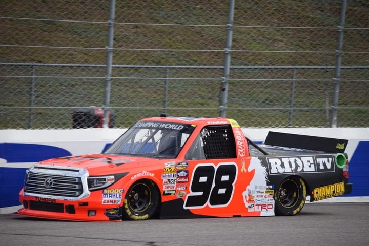 2017 Loudon CWTS Grant Enfinger Truck Phil Allaway