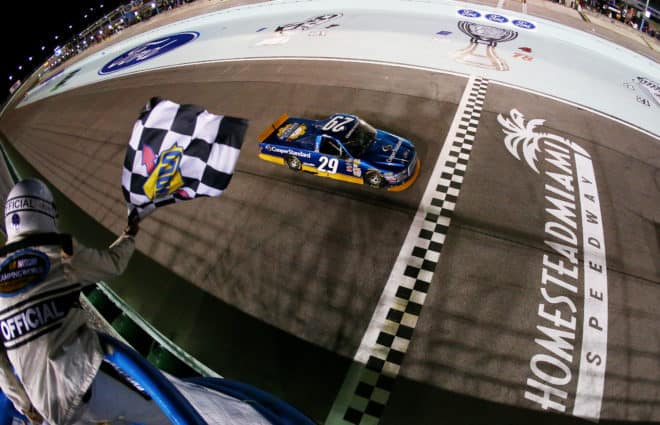 Tracking the Trucks: Chase Briscoe Scores 1st Career Win at Homestead-Miami Speedway