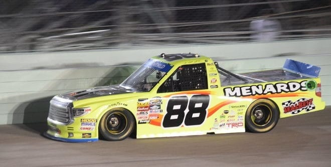 Looseness Curbs Matt Crafton's Championship Chances at Homestead