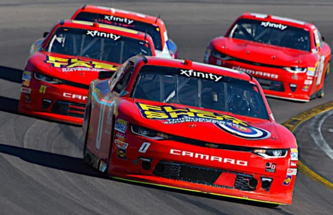 cup drivers in xfinity 2019