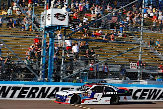 2017 Phoenix NXS William Byron Checkered Flag Russell LaBounty NKP