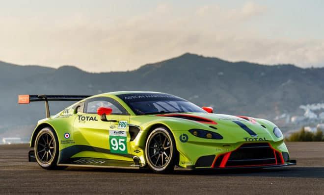 2018 WEC Aston Martin Vantage Aston Martin Racing