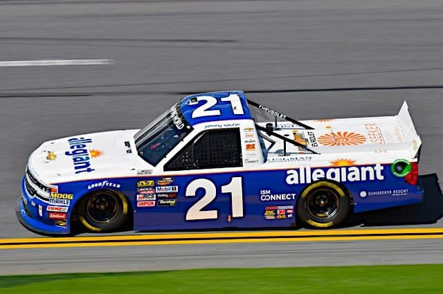 Johnny Sauter Triumphs in Wreck-Filled NextEra Energy Resources 250