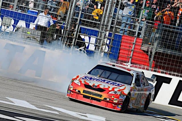 10 Years On, Kyle Busch Looks Back on Winning Toyota's First Cup Race