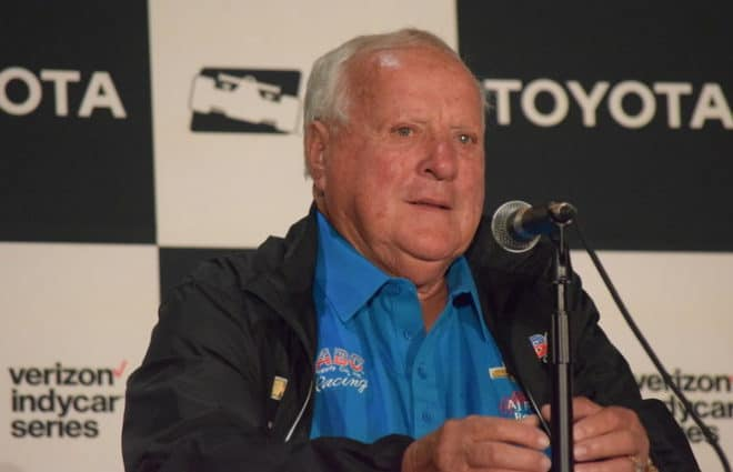 AJ Foyt Resting after Attack by Swarm of Bees…Again