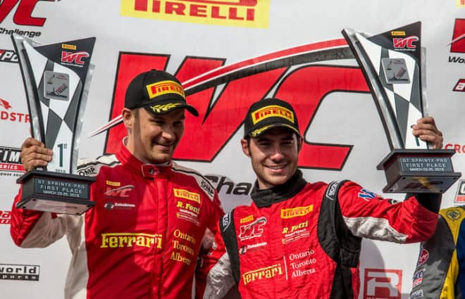R. Ferri Motorsports Wins CTMP Blancpain GT America Race No. 1