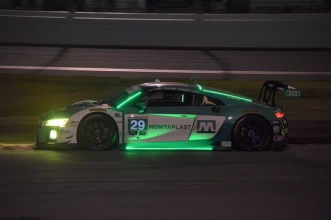 2018 Daytona IWSC Kelvin van der Linde Car Phil Allaway