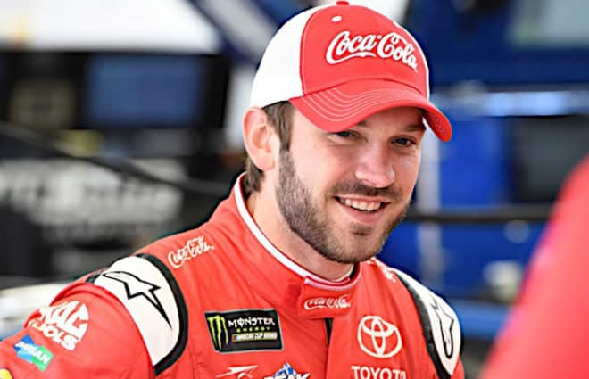 Daniel Suarez Leads Both Coca-Cola 600 Practices