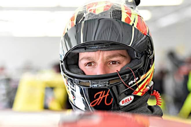 2018 Las Vegas I CWTS John Hunter Nemechek helmet Nigel Kinrade NKP