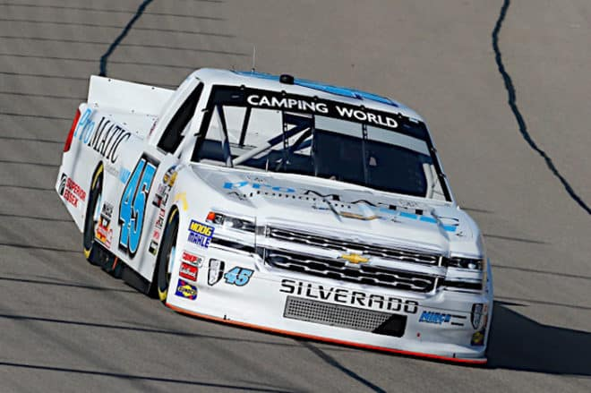 2018 Las Vegas I CWTS Justin Fontaine truck Russell Labounty NKP