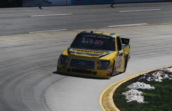 Grant Enfinger Caps Off Wild Night By Winning at Martinsville; Earns Championship-4 Spot