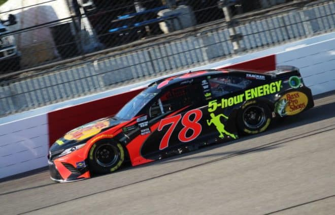 Martin Truex Jr. Wins Pole at Richmond