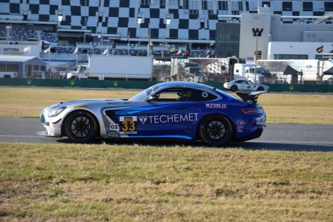 2018 Daytona CTSC Damien Faulkner Car Phil Allaway
