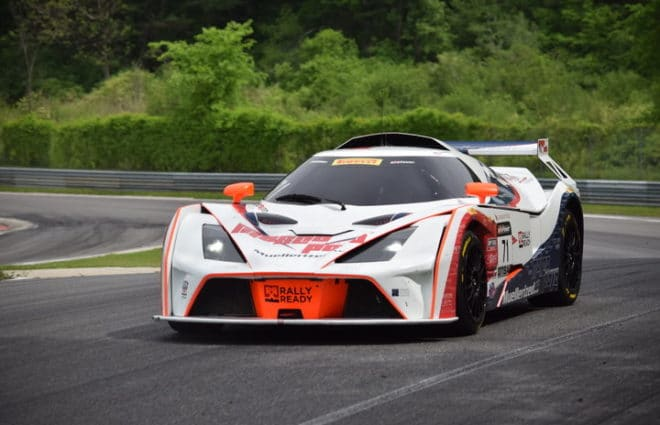 Nicolai Elghanayan Scores Surprise GTS SprintX Pole at Lime Rock