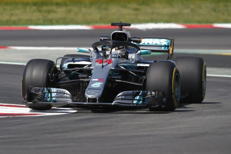 Hamilton Spanish GP pole