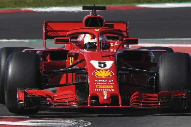 Spain F1 Vettel