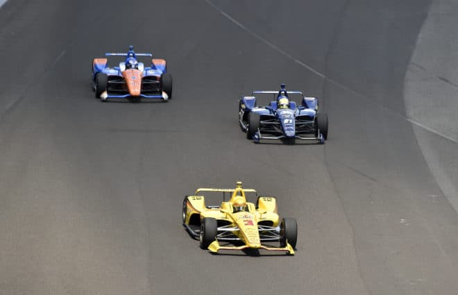 Hélio Castroneves Wrecks in Supposedly 'Final' Indy 500