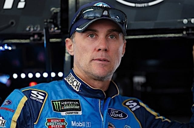 Pit Road Penalty Dooms Kevin Harvick Again in Kansas