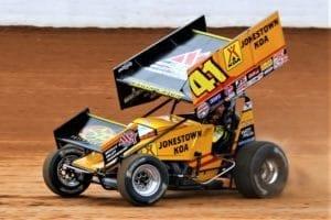 Jason Johnson May 2018 Dirt Track at Charlotte Mike Neff