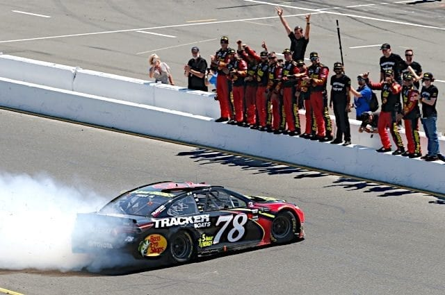 Thinkin' Out Loud: Martin Truex Jr. Stomps Sonoma Competition