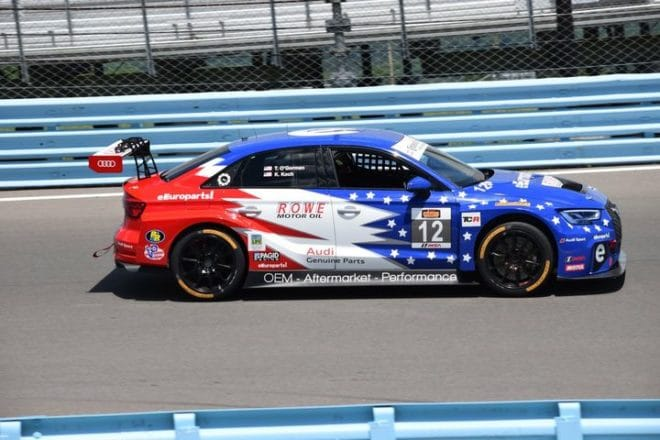 2018 Watkins Glen CTSC Kenton Koch Car Phil Allaway