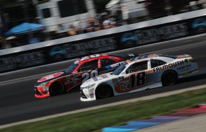 Christopher Bell, Justin Haley lead NASCAR Xfinity Practice at New Hampshire Motor Speedway